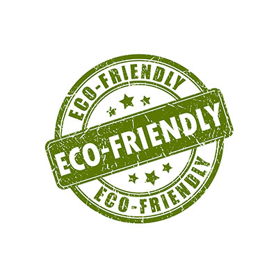 Eco-friendly products banner