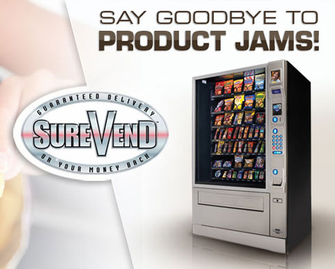 Guaranteed product delivery with SureVend